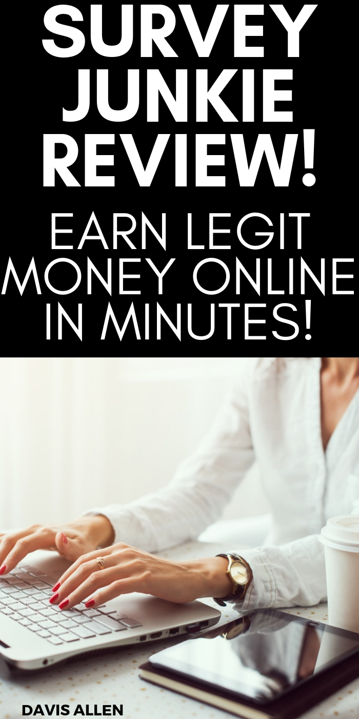 Legit paid survey sites are one of the best side hustles to make quick money online and work from home for yourself. While it may not be enough to quit your day job, it's an easy, safe and fun way to earn extra money from home in your spare time. Need extra cash? Try paid surveys for money with survey junkie. Survey Junkie is totally legit and pays fast with paypal. Real cash! Money, money, money!